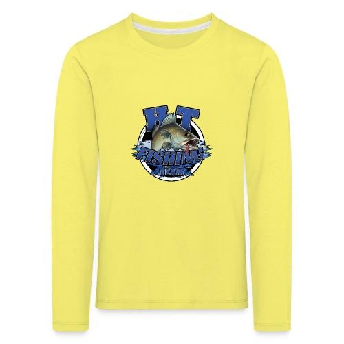 HT Fishing Team - Lasten premium pitkähihainen t-paita