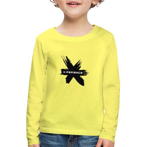x-perience - Das neue Logo - Kinder Premium Langarmshirt