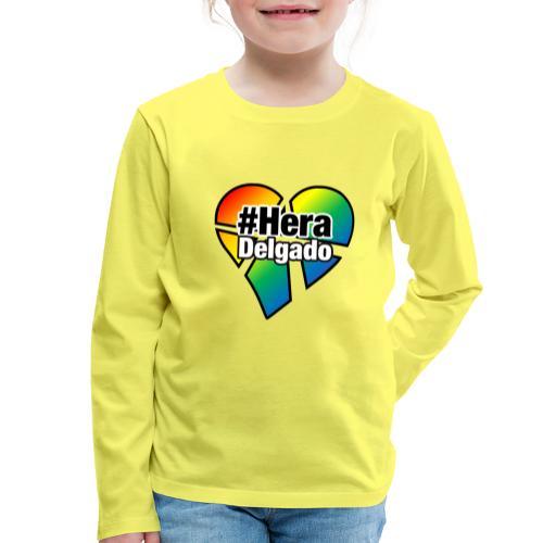 #HeraDelgado - Kinder Premium Langarmshirt