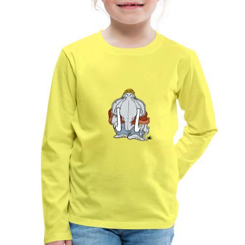 Woodyfant - Långärmad premium-T-shirt barn