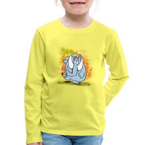 Stegofant - Långärmad premium-T-shirt barn
