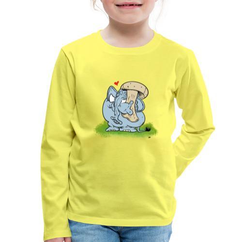 Svampofant - Långärmad premium-T-shirt barn