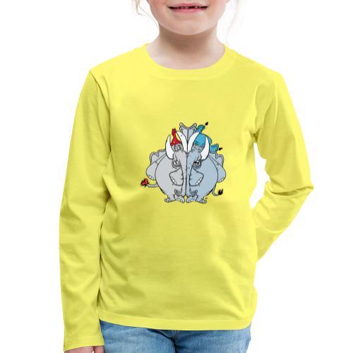 Bästa vänner - Långärmad premium-T-shirt barn
