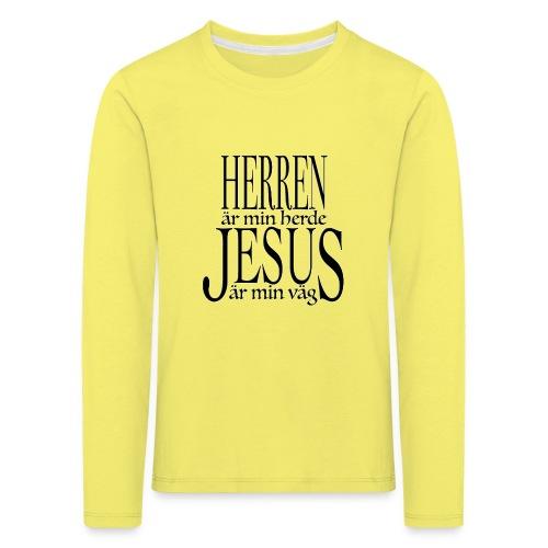 Herren är min Herde - Långärmad premium-T-shirt barn