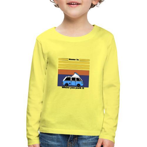 Van Life - Maglietta Premium a manica lunga per bambini