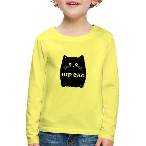 HIP CAT - T-shirt manches longues Premium Enfant