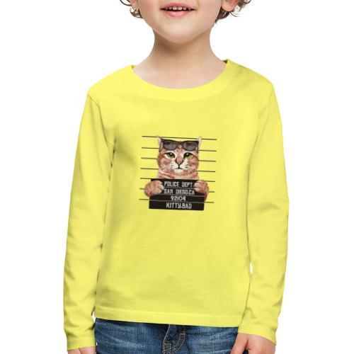 kitty bad - T-shirt manches longues Premium Enfant