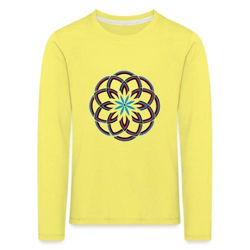 Spirograph 1 - Kinder Premium Langarmshirt