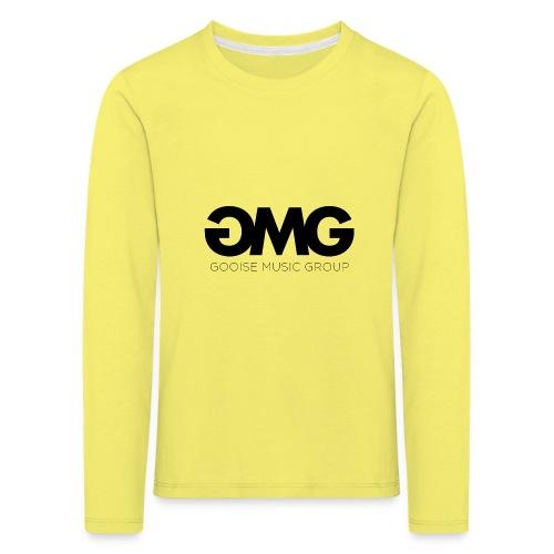 GMG - Kinderen Premium shirt met lange mouwen