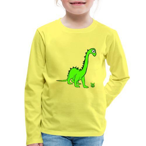 dinosauro - Maglietta Premium a manica lunga per bambini