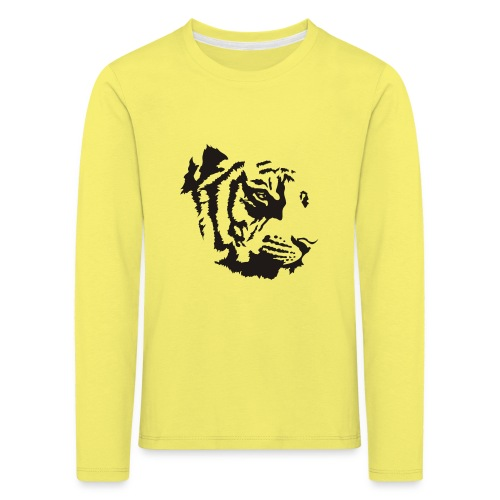 Tiger head - T-shirt manches longues Premium Enfant