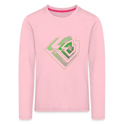 BRANDSHIRT LOGO GANGGREEN - Kinderen Premium shirt met lange mouwen