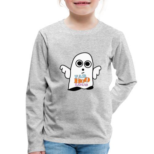 Halloween Geist BOO - Kinder Premium Langarmshirt