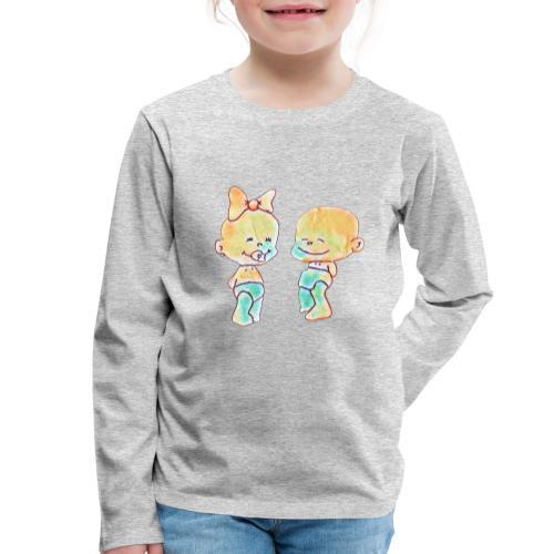 Bambini innamorati - Maglietta Premium a manica lunga per bambini