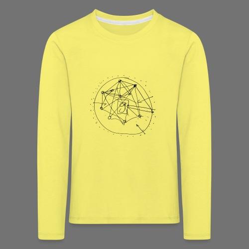 SEO-strategi No.1 (sort) - Børne premium T-shirt med lange ærmer