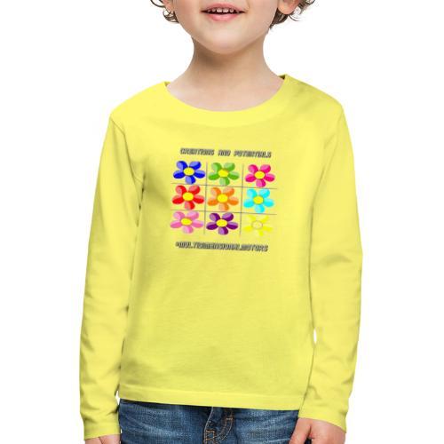 logo of my #MultiDimensionalMotors blog - Maglietta Premium a manica lunga per bambini