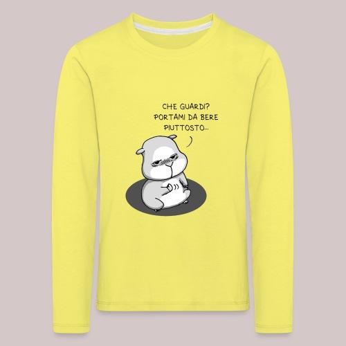 drunk_Hamster - Maglietta Premium a manica lunga per bambini
