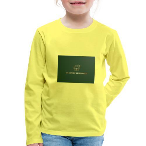 NM Clothing & Merchandise - Børne premium T-shirt med lange ærmer