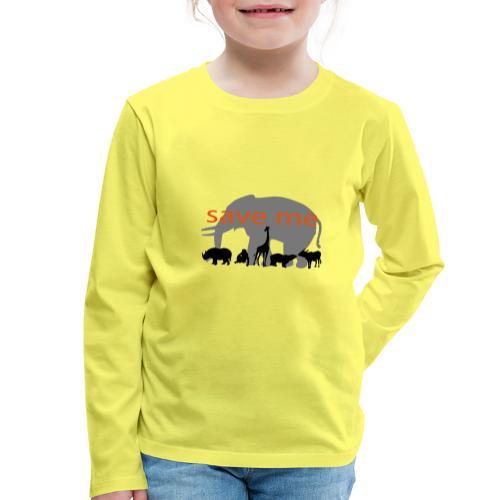 Animaux - T-shirt manches longues Premium Enfant