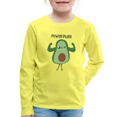 power plant - Kids' Premium Longsleeve Shirt