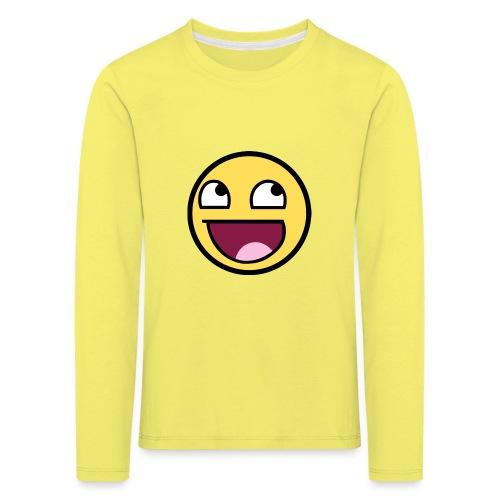 happiness t-shirt - Långärmad premium-T-shirt barn