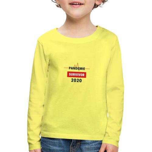 Pandemie Survivor - Kinder Premium Langarmshirt
