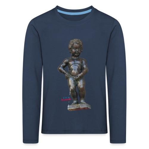 BiG REAL mannekenpis ♀♂ | 小便小僧 - T-shirt manches longues Premium Enfant