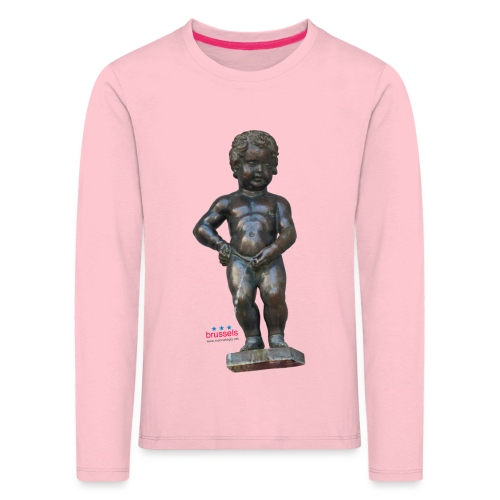 BiG REAL mannekenpis ♀♂   小便小僧 - T-shirt manches longues Premium Enfant