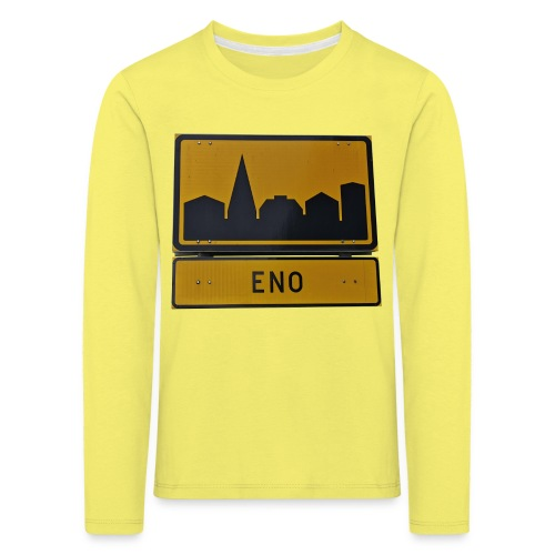 The Eno - Lasten premium pitkähihainen t-paita