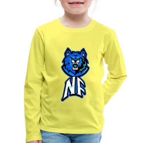 Noah Fortes logo - Kinderen Premium shirt met lange mouwen