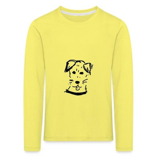 piesek a jpg - Koszulka dziecięca Premium z długim rękawem