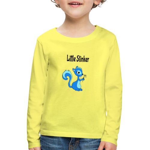 Schattige eekhoorn voor jongens - Kinderen Premium shirt met lange mouwen
