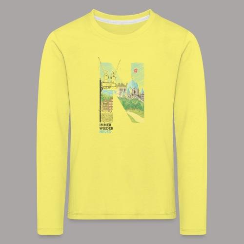 Immer wieder Neuss Tshirt für Kinder von MaximN - Kinder Premium Langarmshirt
