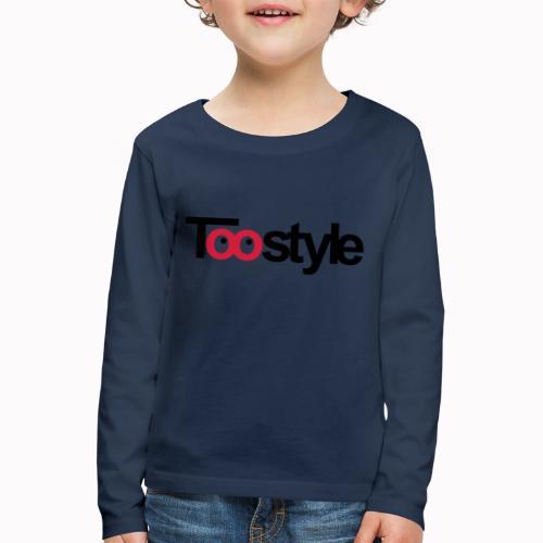 toostyle - Maglietta Premium a manica lunga per bambini