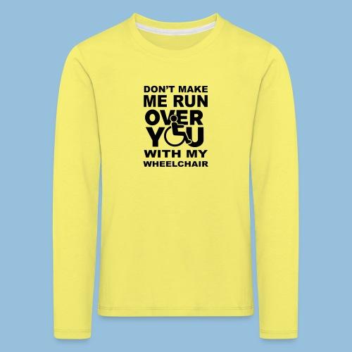 Runover1 - Kinderen Premium shirt met lange mouwen