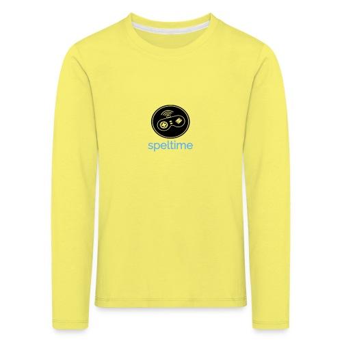 SPELTIME - Långärmad premium-T-shirt barn