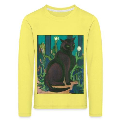 Die Katze in der Kunst - Kinder Premium Langarmshirt