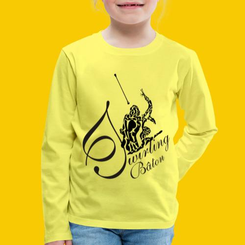 twirling b 2 - T-shirt manches longues Premium Enfant