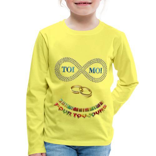 Toi et moi pour toujours - T-shirt manches longues Premium Enfant