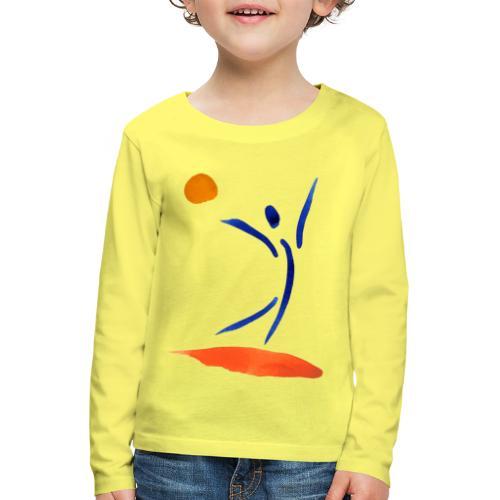 mein energie studio - Kinder Premium Langarmshirt