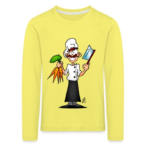 The vegetarian chef - Kids' Premium Longsleeve Shirt