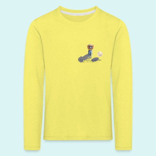 The Space Adventure - Kids' Premium Longsleeve Shirt