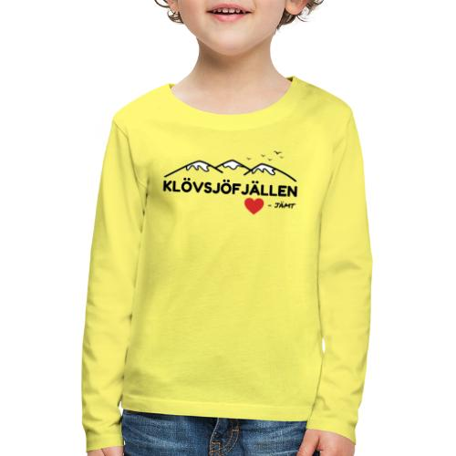Klövsjöfjällen - Långärmad premium-T-shirt barn