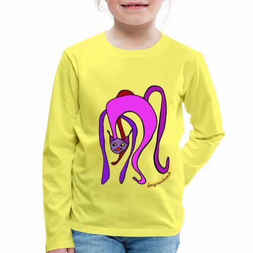 Miaou! - T-shirt manches longues Premium Enfant