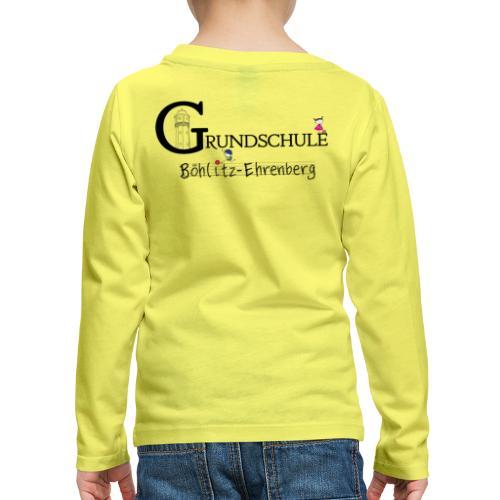 Grundschule Böhlitz-Ehrenberg - Kinder Premium Langarmshirt