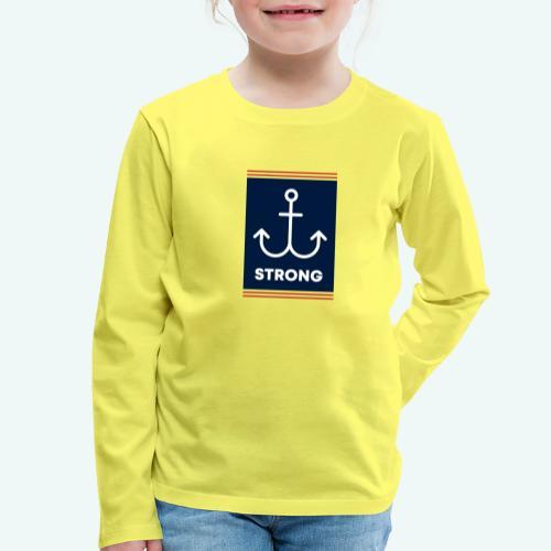 Strong - Kinder Premium Langarmshirt