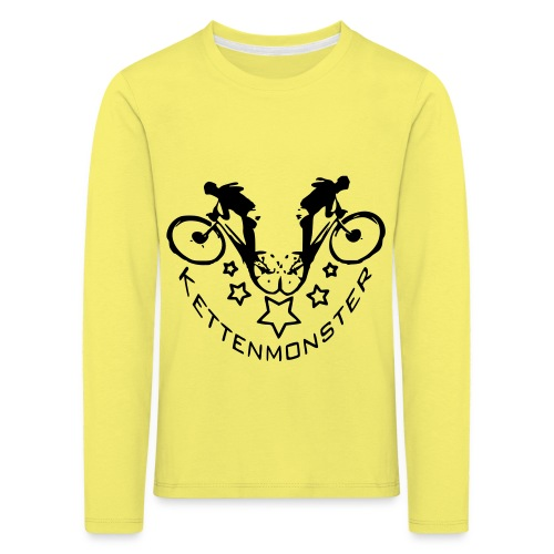 Kettenmonster Biker - Kinder Premium Langarmshirt