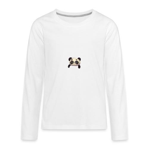 panda logo - Teenagers' Premium Longsleeve Shirt