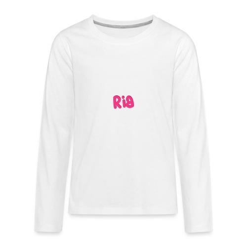 Ria Roo 3D - Teenagers' Premium Longsleeve Shirt