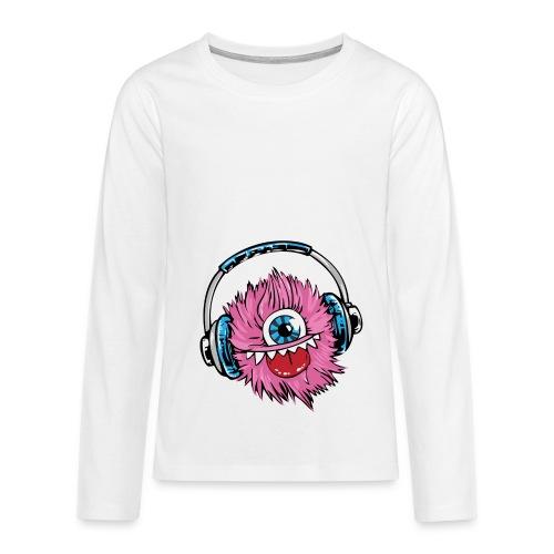 pink monster - Teenager Premium Langarmshirt